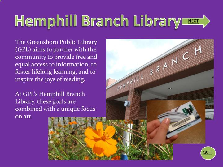 Hemphill Branch Library