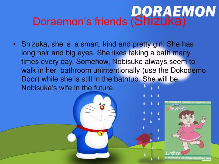 Doraemon's friends (