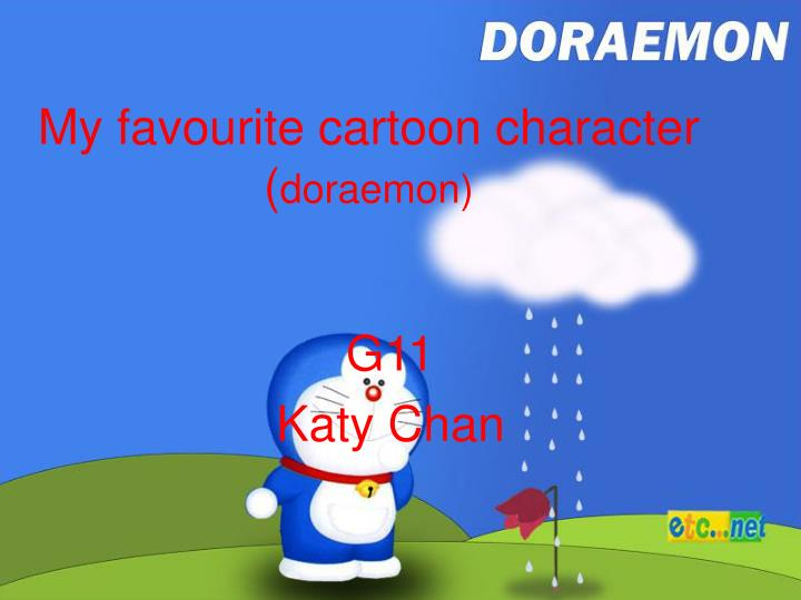 My favourite cartoon character doraemon