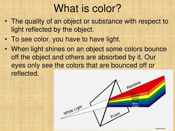 What is color