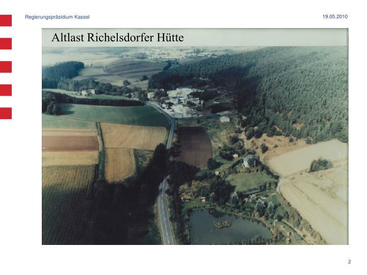 Altlast Richelsdorfer Hütte