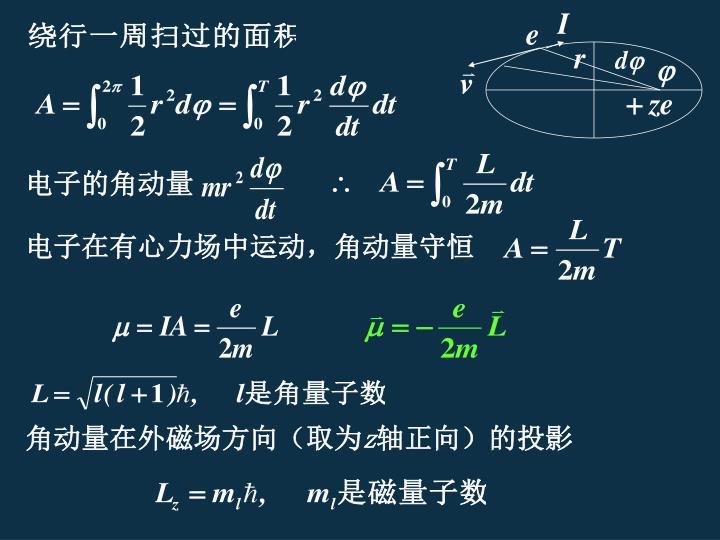 电子的角动量