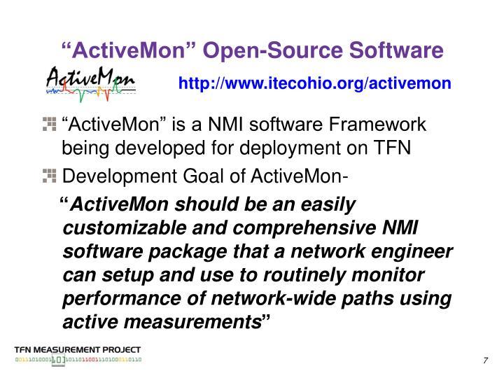 """ActiveMon"" Open-Source Software"