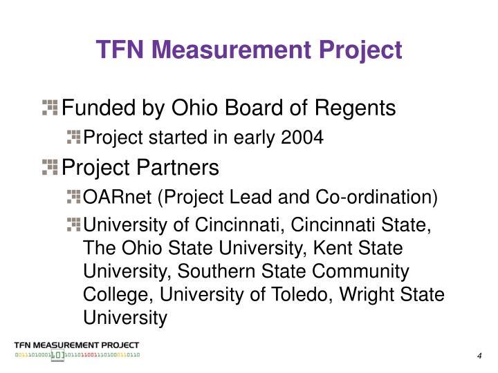 TFN Measurement Project