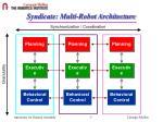 syndicate multi robot architecture