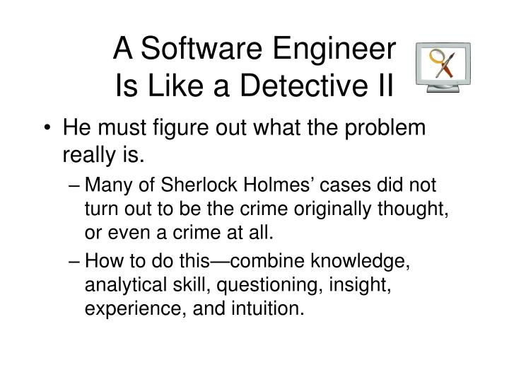 A Software Engineer