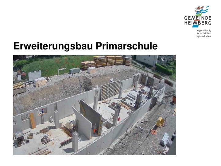 Erweiterungsbau Primarschule