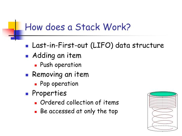 How does a stack work