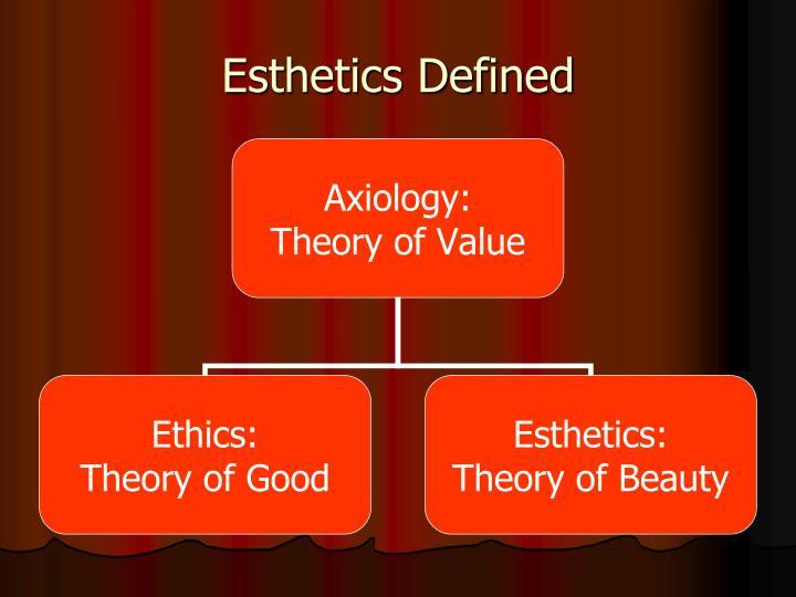 Esthetics Defined