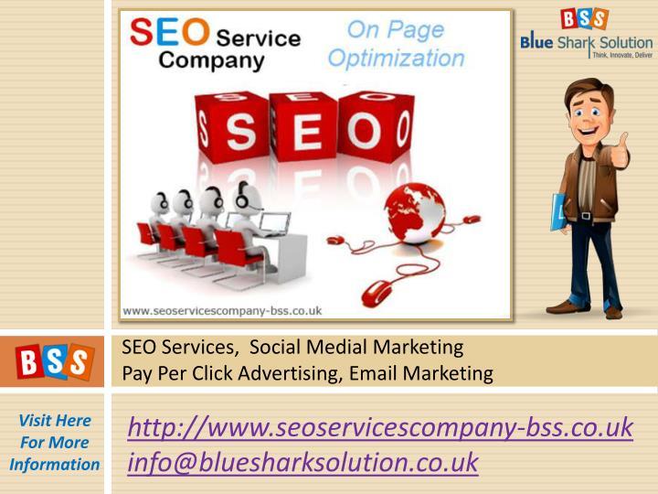 SEO Services,  Social Medial Marketing