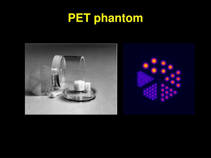 PET phantom