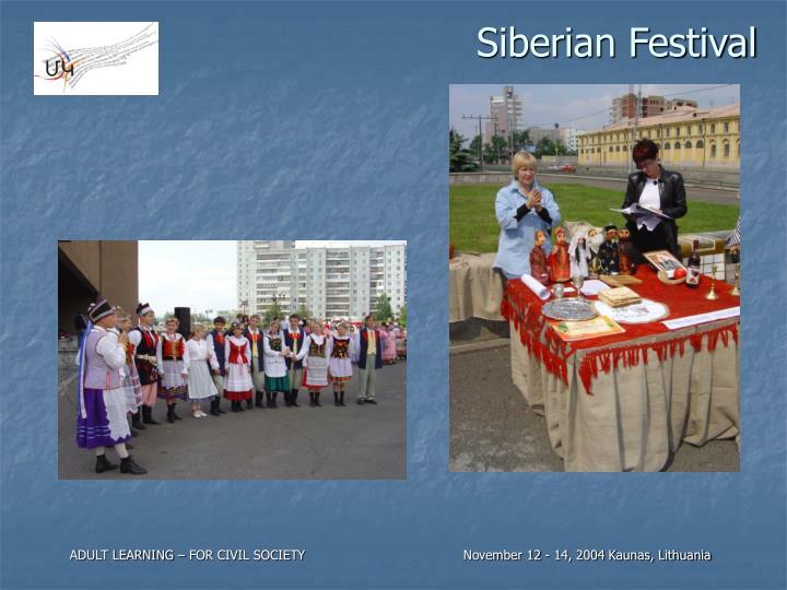 Siberian Festival