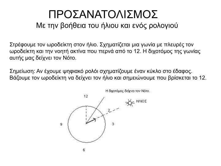 ΠΡΟΣΑΝΑΤΟΛΙΣΜΟΣ