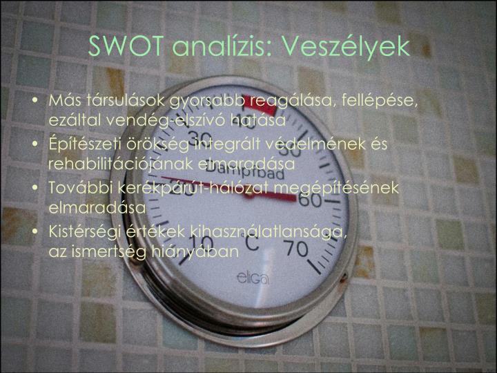 SWOT analízis: Veszélyek