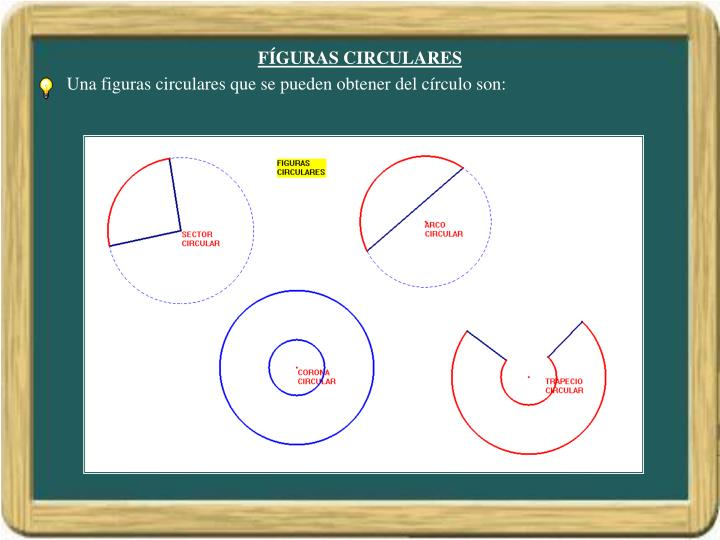 FÍGURAS CIRCULARES