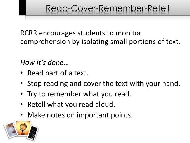 Read-Cover-Remember-Retell