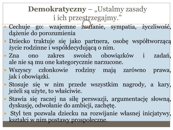 Demokratyczny