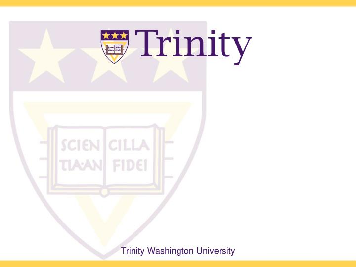 Trinity powerpoint template