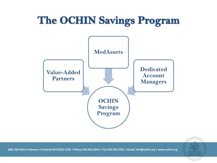 The ochin savings program