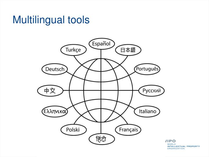 Multilingual tools