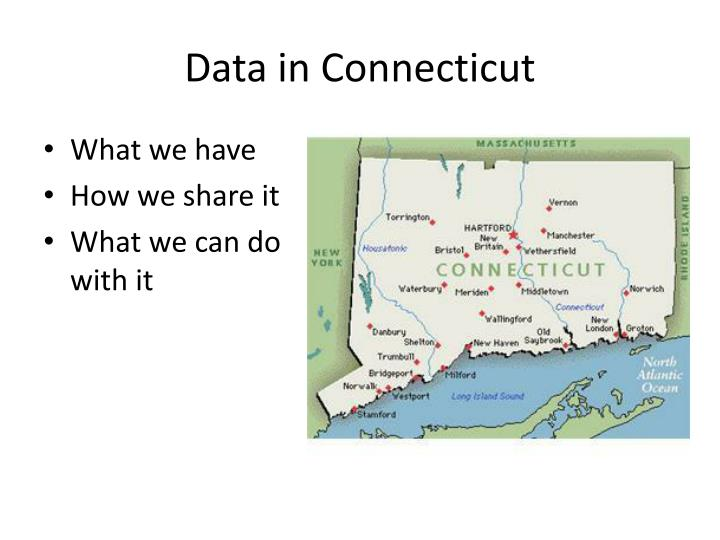 Data in Connecticut