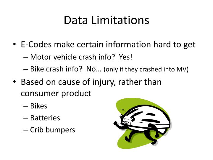Data Limitations