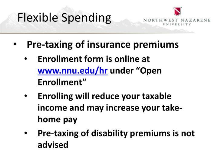 Flexible Spending