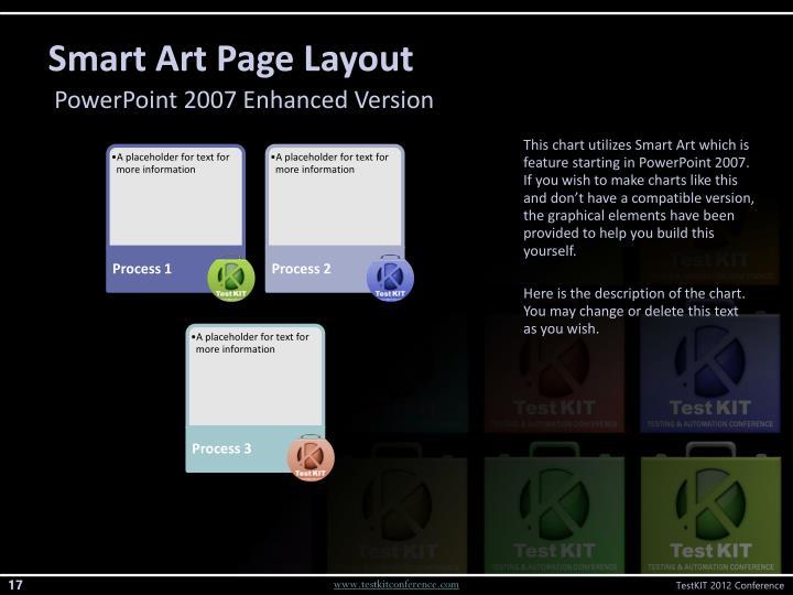 Smart Art Page Layout