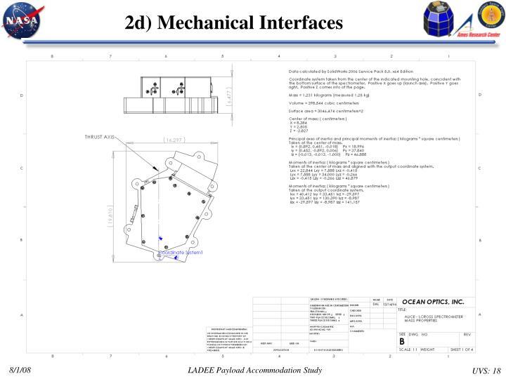 2d) Mechanical Interfaces