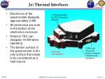 2e thermal interfaces
