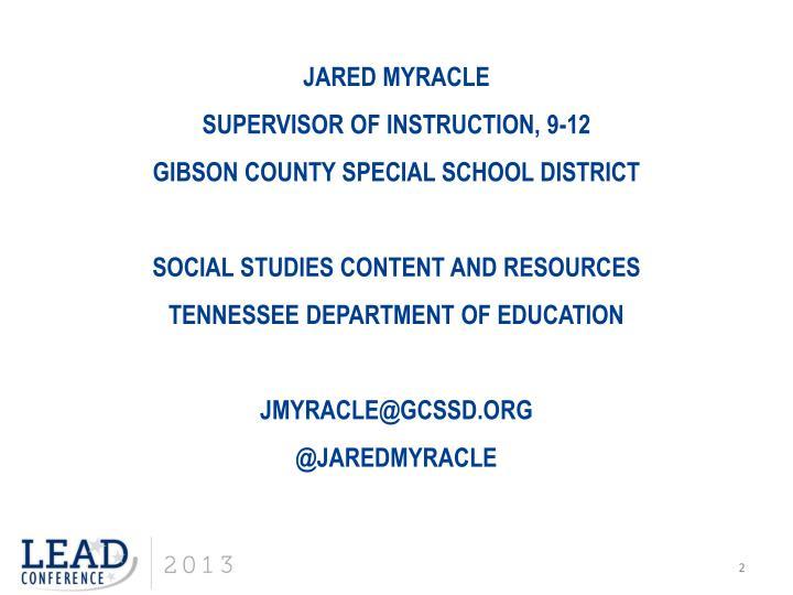 Jared Myracle