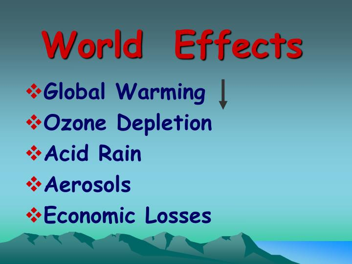 World  Effects