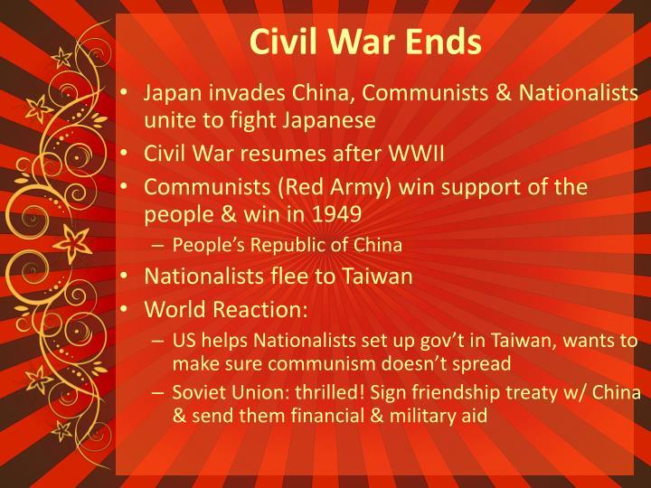 Civil War Ends