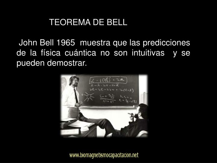TEOREMA DE BELL