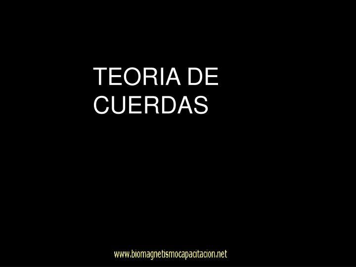 TEORIA DE