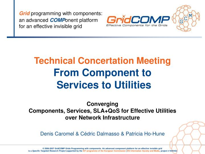 Technical Concertation Meeting