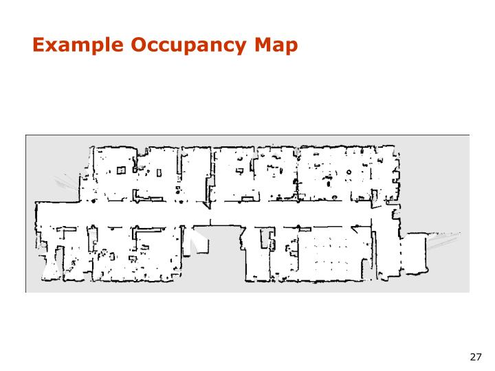 Example Occupancy Map