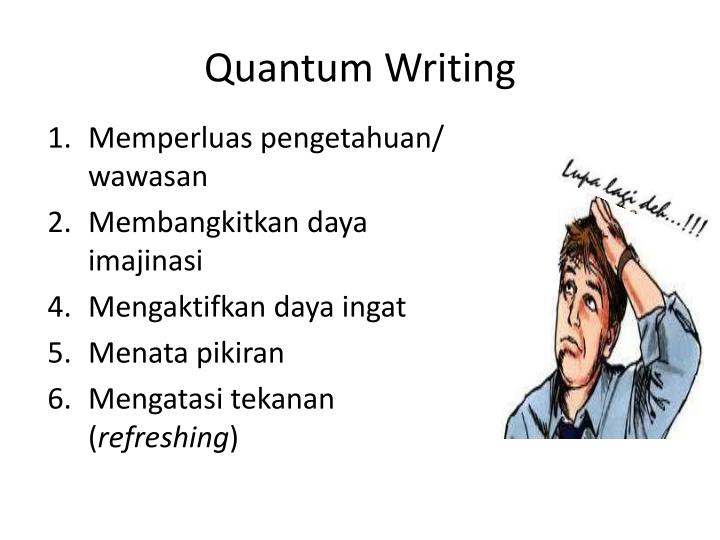 Quantum Writing