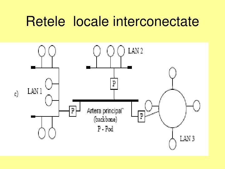 Retele  locale interconectate