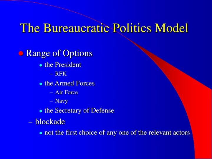 The Bureaucratic Politics Model