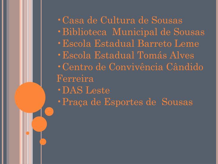 Casa de Cultura de Sousas
