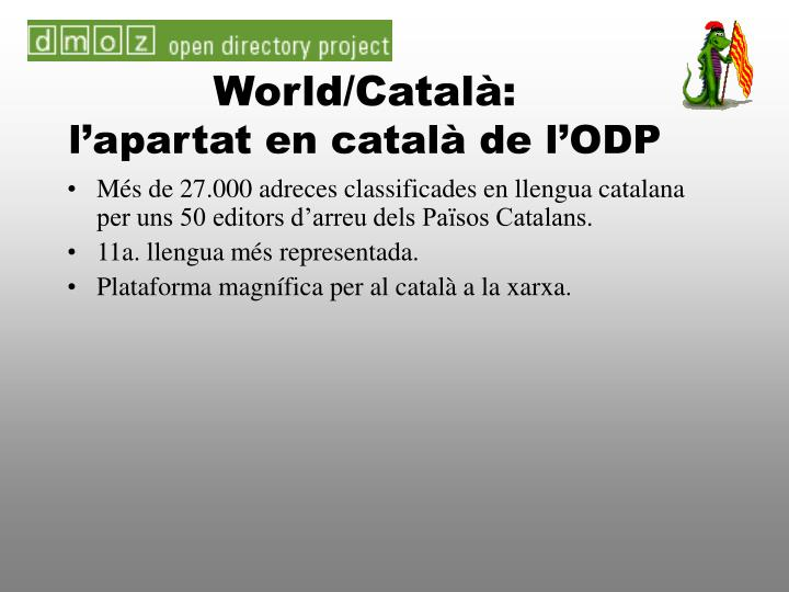 World/Català: