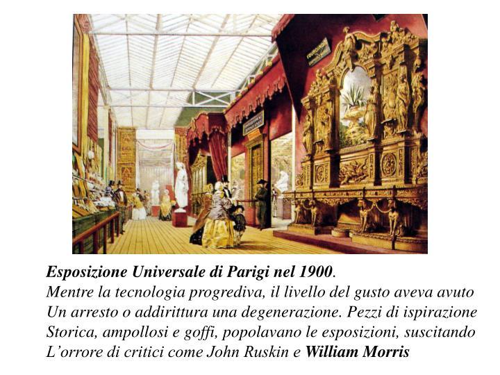 Esposizione Universale di Parigi nel 1900