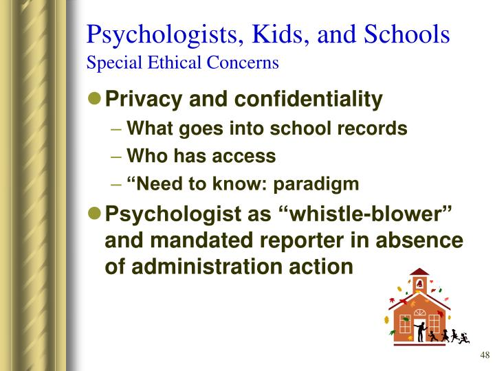 Psychologists, Kids, and Schools