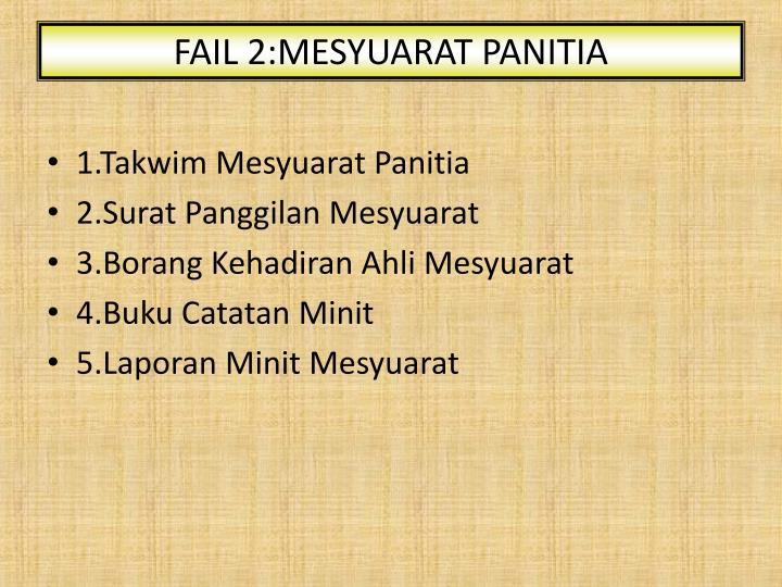 FAIL 2:MESYUARAT PANITIA