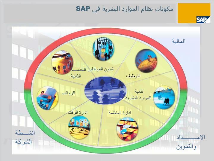 مكونات نظام الموارد البشرية في