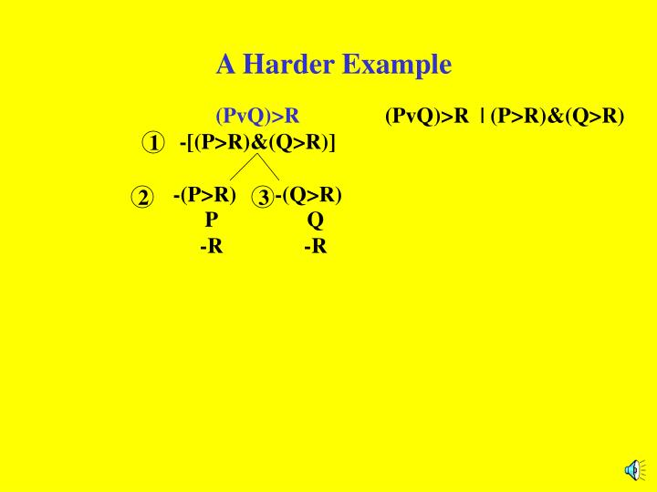 A Harder Example