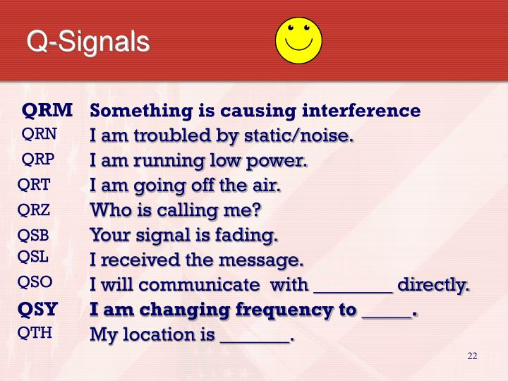 Q-Signals