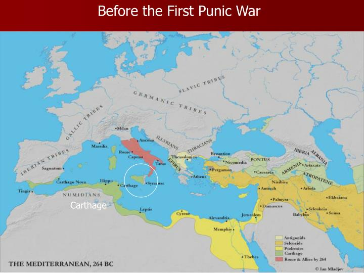 Before the First Punic War