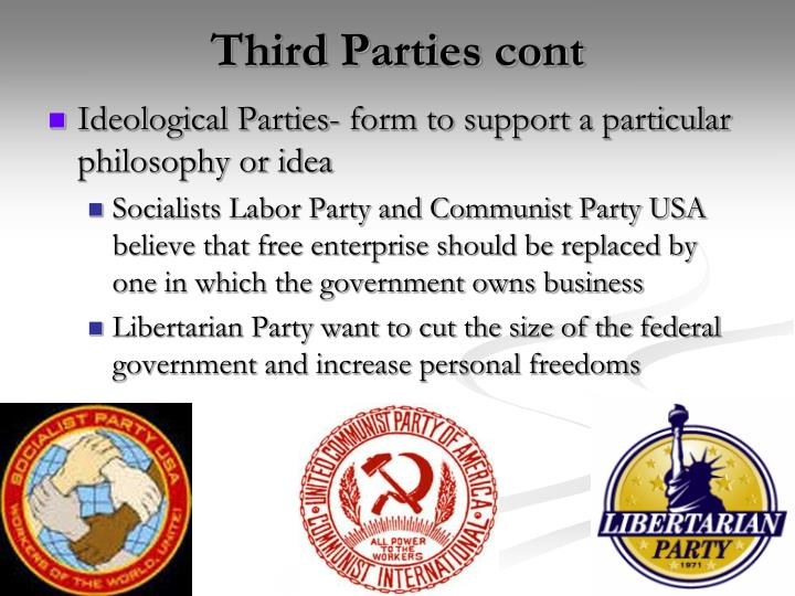 Third Parties cont